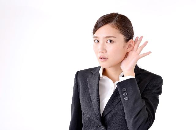 電話の相手の声が聞きとりづらいときは、不快にならないようにしつつ、聞こえるように話してもらえるよう、うまく会話をしていくこと